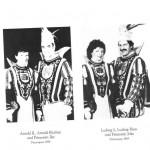 Prinzenpaare 1984 und 1985