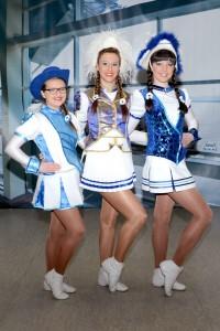 Tanzmarichen Melissa, Kira und Ina