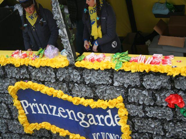 Wagen Prinzengarde
