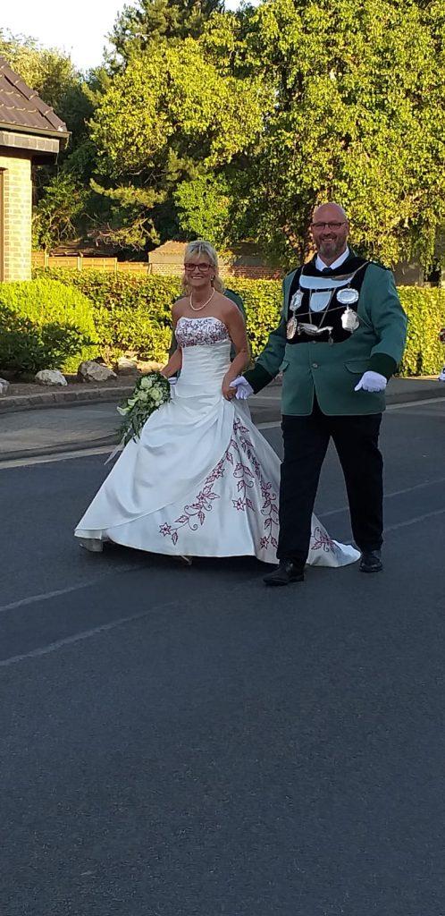 Königspaar Silvia und Volker