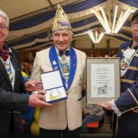 Heinz Wynen bekommet den Sämlingsorden 2019