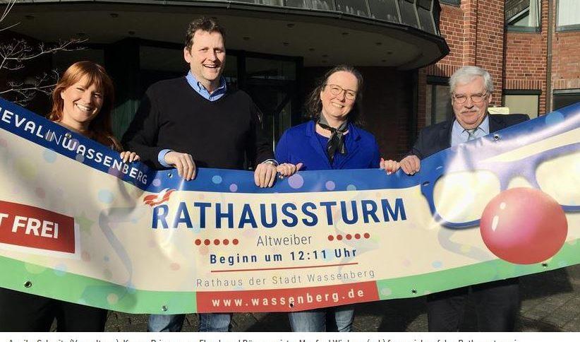 Rathausstürmumg an Altweiber